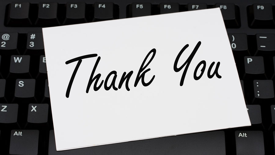 Importance of the Thank You Letter