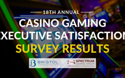 The Results Are In: Casino Gaming Executive Satisfaction Survey 2018