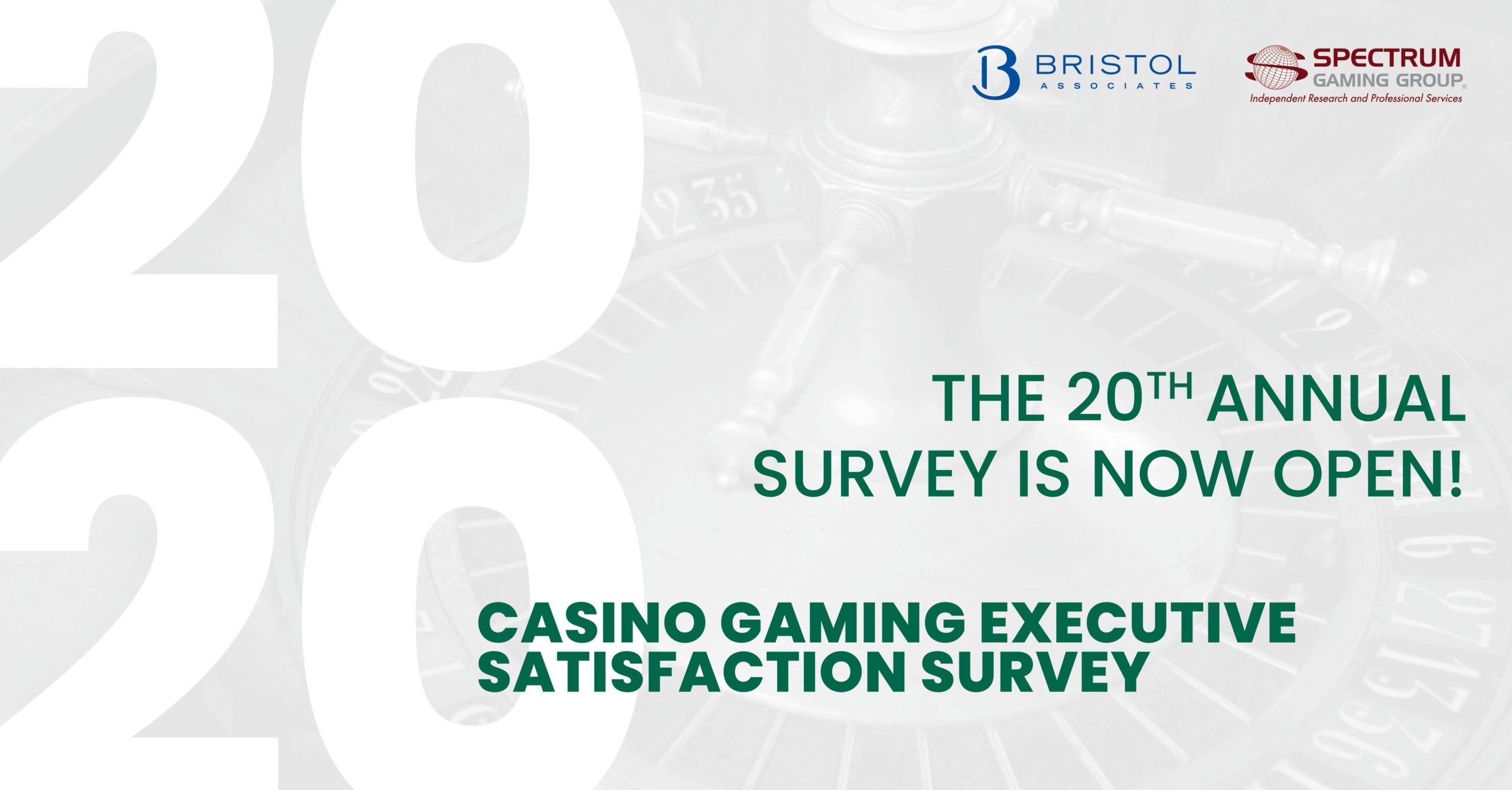Casino Gaming Executive Satisfaction Survey 2020