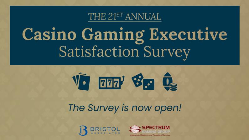 Casino Gaming Executive Satisfaction Survey 2021